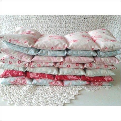 Kirschkernkissen, Körnerkissen, Wärmekissen,Tilda, Tildastoff  (Handmade auf Spandooly.de)