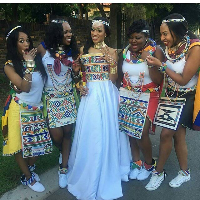 My ndebele queen @maryjane_sidambe....u made it so easy my hun bless you