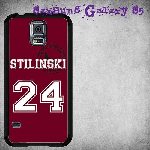 Teen Wolf Stilinski Lacrosse Jersey Print On Hard Plastic For Samsung Galaxy S5 , Black Case  Description:  Create special case by using your favorite photos or thoughts to inspire and motivate you ev