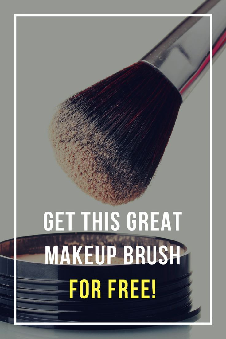 This makeup brush has 10 times more Bristles (22,000), than other brushes. Find out how you can get it for Free!