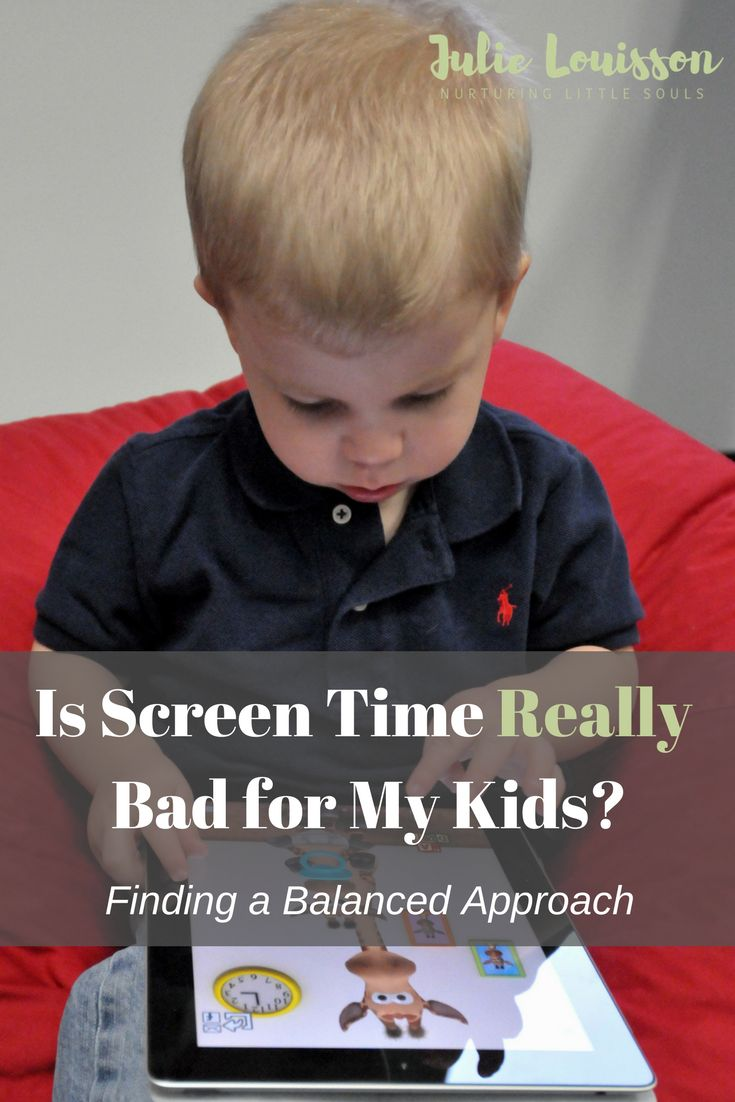 it's hare to know the best way to manage screen time for kids.  In this blog post, I share the guidelines I use. #julielouisson #spiritualparenting #parenting #screensforkids
