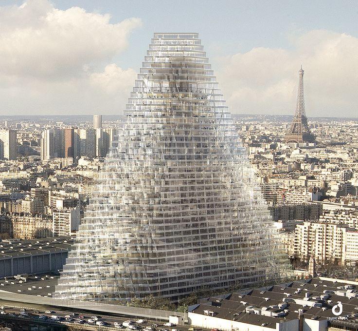Triangle Paris Herzog and De Meuron #architecture #demeuron #herzog Pinned by www.modlar.com