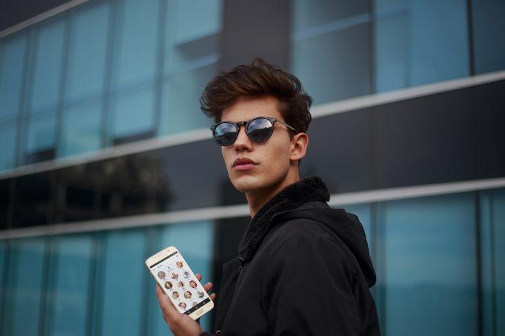 Campaign @badoo_es  #badoo #peoplenearby Model Marko Andre Leon
