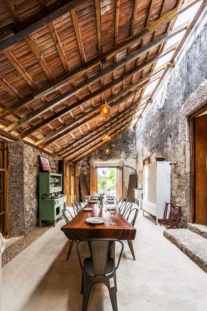 Material Focus: Hacienda Niop by AS Arquitectua and R79,© David Cervera