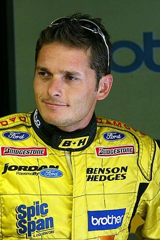 Giancarlo Fisichella (ITA) Jordan. Formula One World Championship, Rd14, Italian Grand Prix, Preparations, Monza, Italy, 11 September 2003