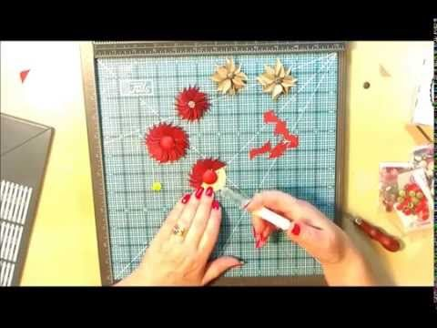 ▶ Envelope Punch Board Flowers - YouTube