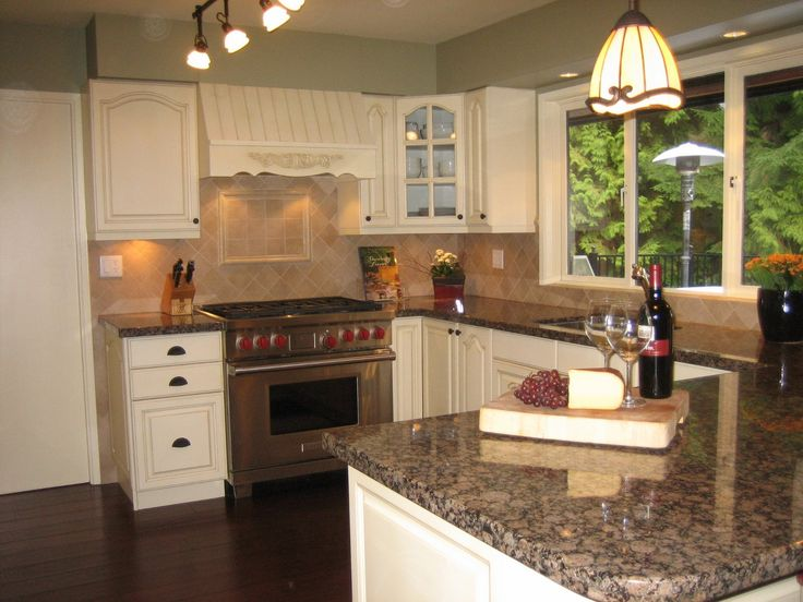 brown kitchen cabinets perfect