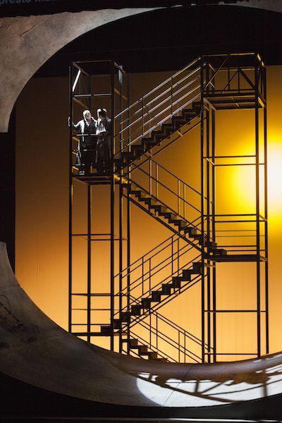 Pelleas et Melisande. Scenic design by Gianni Carluccio.