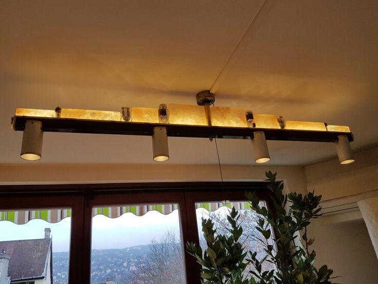 Himalaya salt, vacuum tube, LED spots, rotatable ceiling lamp, home design&made