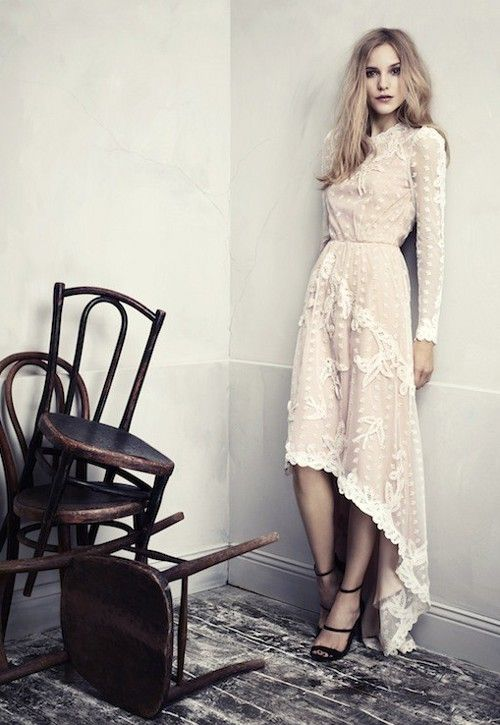 dustjacket attic: Lace | Shell Pink | White