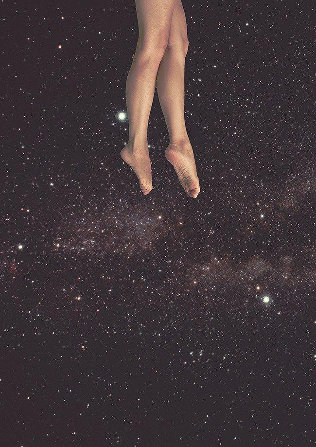 Flutuar no universo Ver o mundo de perto Ver a terra girar