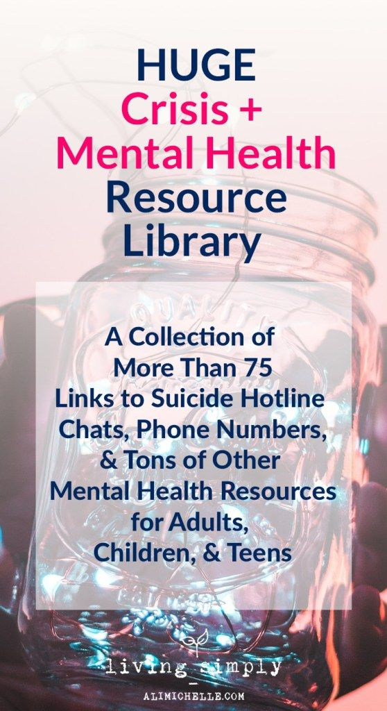 mental health counselor resume%0A Crisis  u     Mental Health Resource Library
