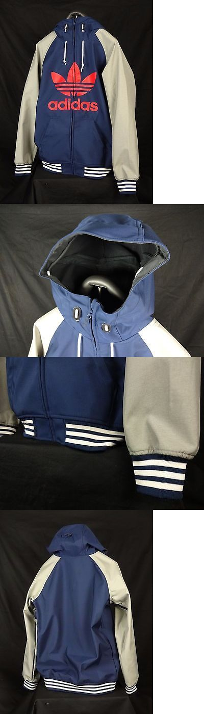 Coats and Jackets 26346: 17 Adidas Snowboard Mens 10K Greeley Soft Shell Jacket Small S Blue Msrp$ 165 -> BUY IT NOW ONLY: $90 on eBay!