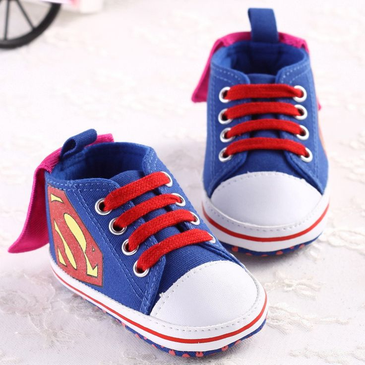Aliexpres: Super Man Baby Shoes