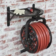 Whitehall Aluminum Filigree Garden Hose Holder - Hose Reels at Hayneedle