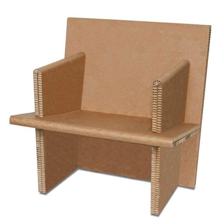 17 migliori idee su mobili di cartone su pinterest oggetti di artigianato realizzati con - Mobili in cartone ...