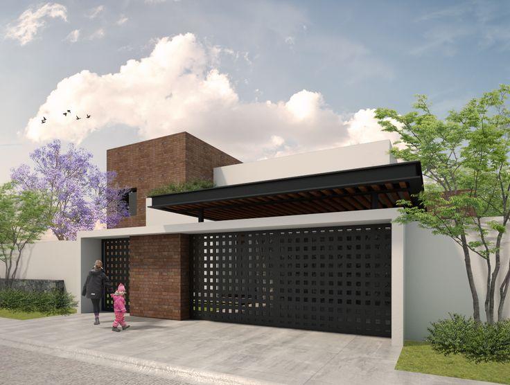 Fachada Casa Serena   Dionne Arquitectos