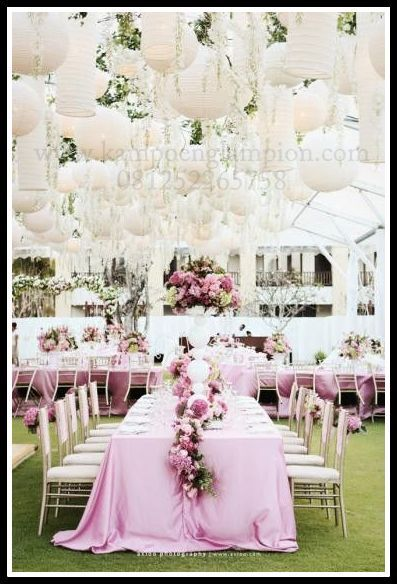 Lampion untuk Wedding Party