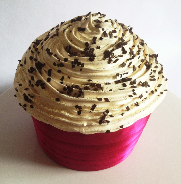 Black Forest Giant Cupcake