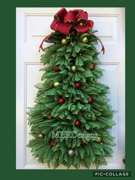 Christmas Tree Wreath Christmas Wreath Christmas Decor