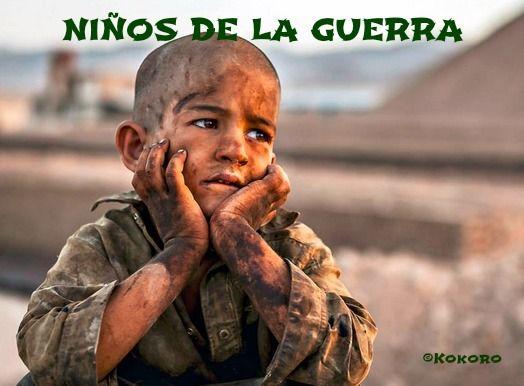Poema protesta social NIÑOS DE LA GUERRA @Kokoroalma @Esveritate #guerra #DerechosHumanos #lee http://esveritate-laverdad.blogspot.com.es/2014/09/ninos-de-la-guerra.html