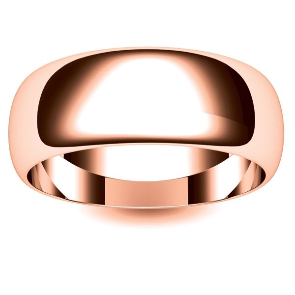 24 best 18ct Rose Gold DShape wedding Rings images on Pinterest