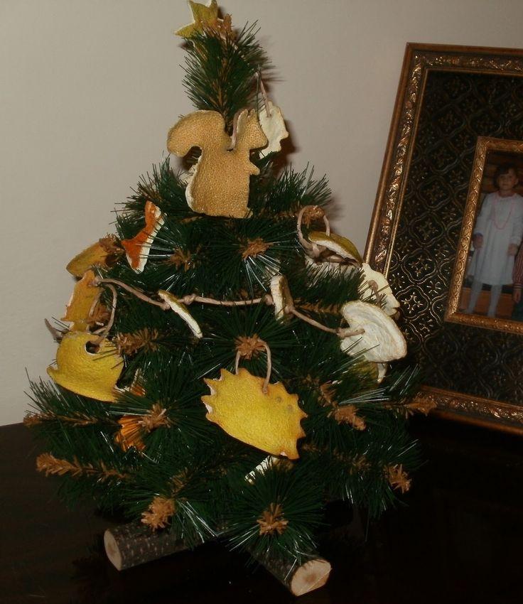 ekologiczny stroik na Boże Narodzenie