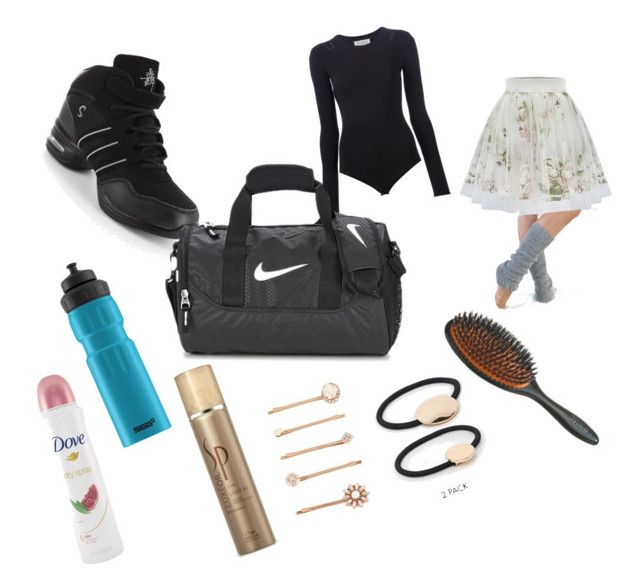 dancer´s bag by sweety-kami on Polyvore featuring art