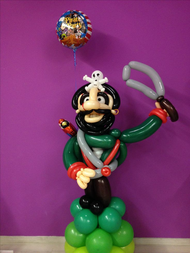 Balloon pirate.