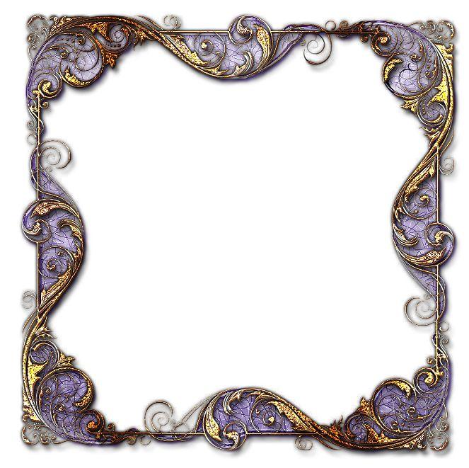 Rámečky romantické s výplní - čtverec | Tvoření