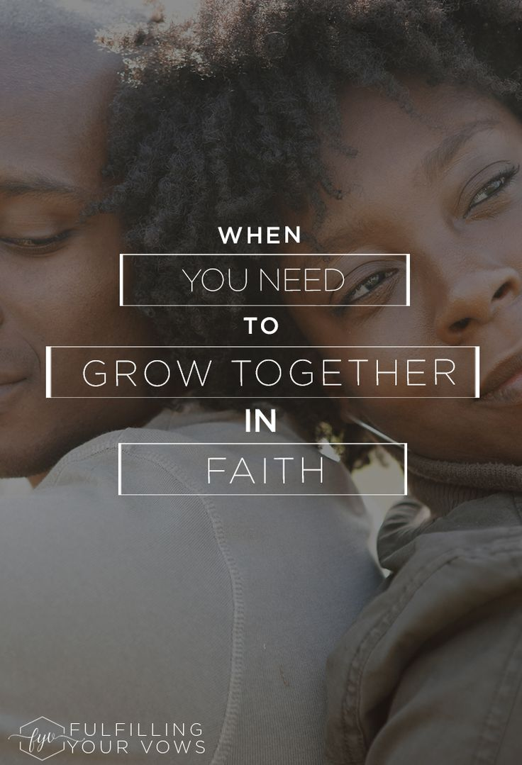 Looking to grow in faith with your spouse? If so, Rebekah shares 3 practical tips that can help! via @carliekercheval