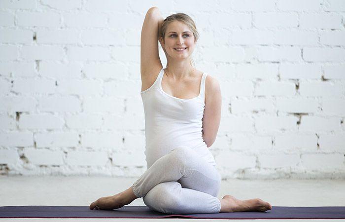 Gomukhasana To Cure Neck Pain - Yoga