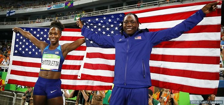 Tianna Bartoletta Claims Long-Awaited Long Jump Gold; 2012 Olympic Champ Brittney Reese Takes Silver