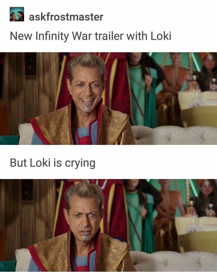 Avengers: Infinity War || Loki