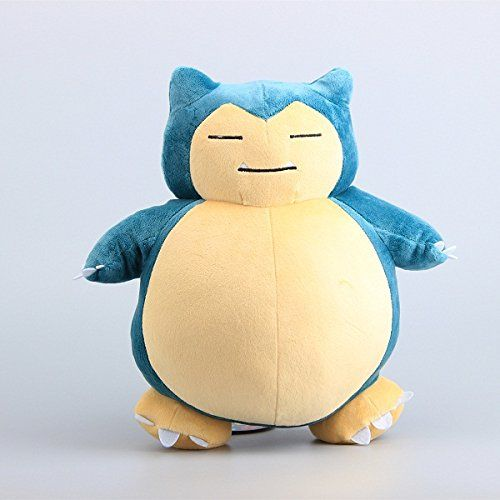 Pokemon Snorlax Soft Plush Figure Toy Anime Stuffed Animal 12 Inch Child Gift Doll – Pokemon Toys: Soft toys
