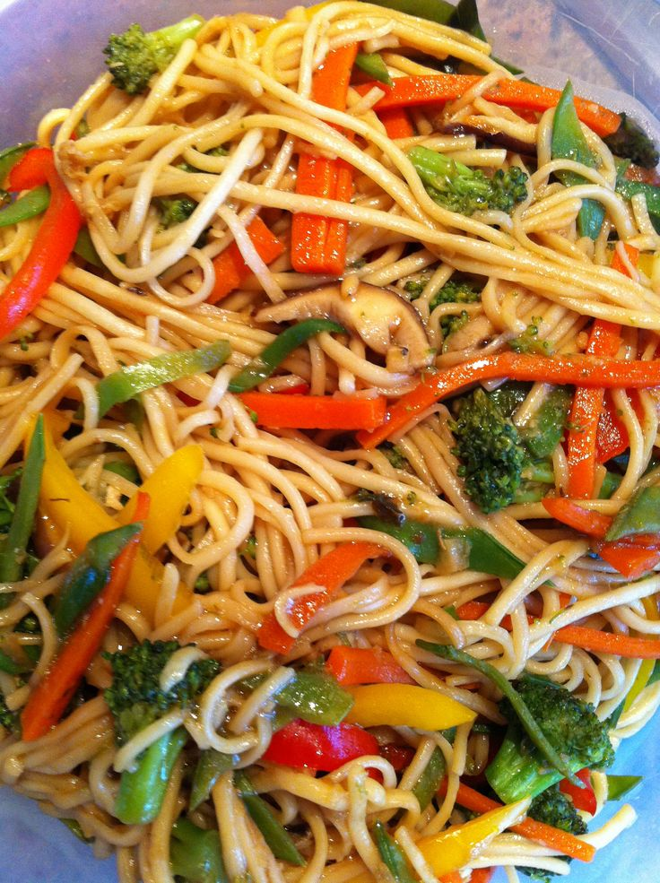 Soba Noodle Stir Fry | Yummy Food | Pinterest