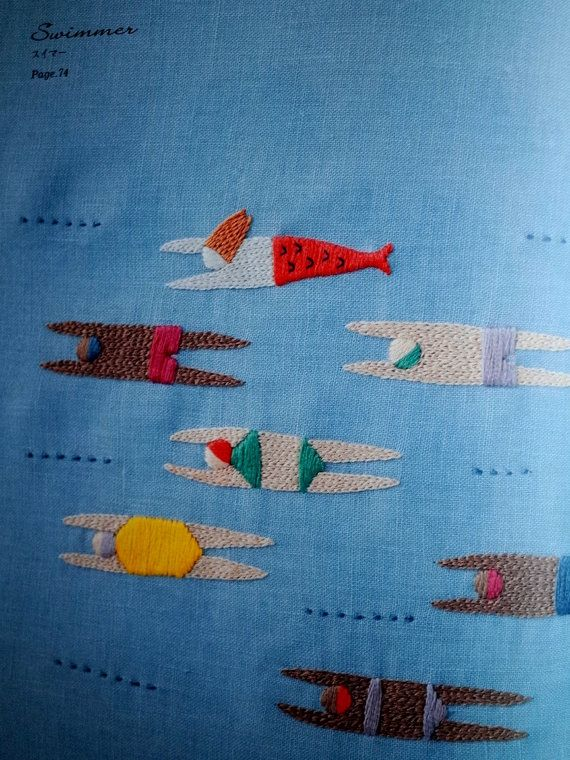 12-Month Embroidery by Yumiko Higuchi Japanese by MotokoThreads. Quiltspiration