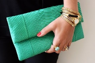 This clutch is to die for!