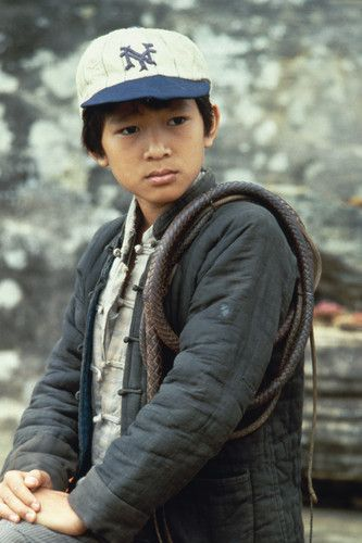 "Jonathan Ke Quan in ""Indiana Jones and the Temple of Doom"" (1984). DIRECTOR: Steven Spielberg."