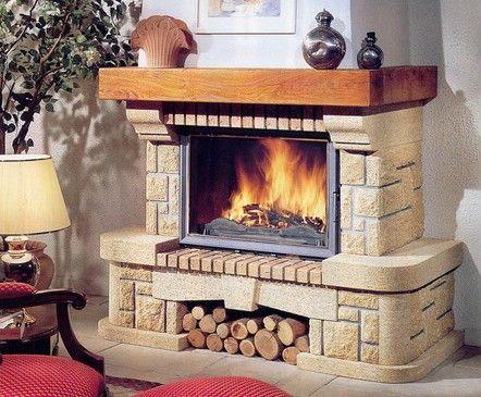 Закрытые камины более эффективны и безопасны