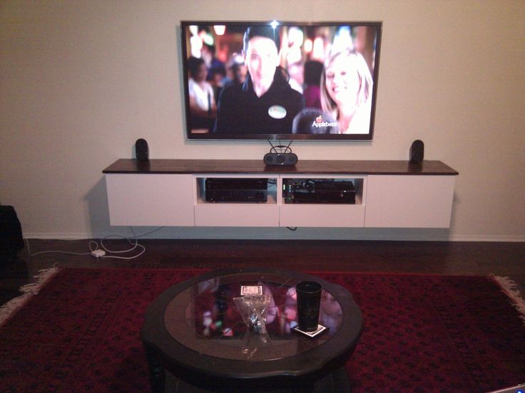 besta floating media center ikea hackers different front and hung higher but this is floating tv stand media tv unittv