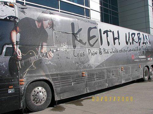 Keith Urban's Tour Bus - keith-urban Photo