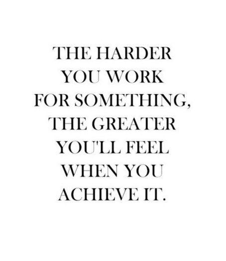 Een voldaan gevoel - Motivatie quotes voor wanneer je een berg werk moet…