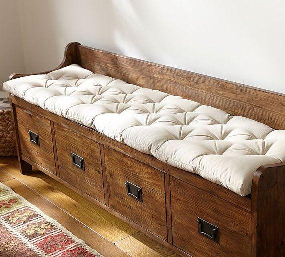 Loft Bench Seat Natural: Best 25+ Bench Cushions Ideas On Pinterest
