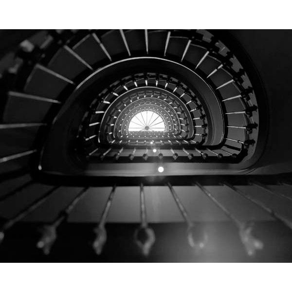 Black and white paris photography stairs architecture for Black and white paris wall mural