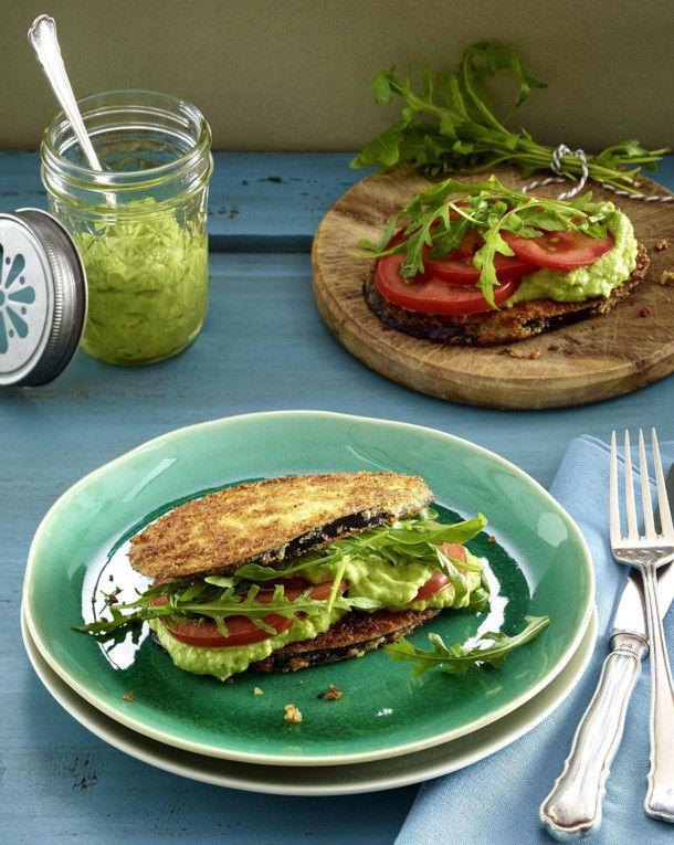 Unser beliebtes Rezept für Auberginen-Sandwich und mehr als 55.000 weitere kostenlose Rezepte auf LECKER.de.