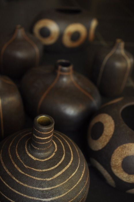 beautiful: Ceramics Pottery, Pottery Ceramics Glass, Art, African Ceramics, Brown, Ceramics Decoration, Carving Patterns Ceramics, Clay Ceramics