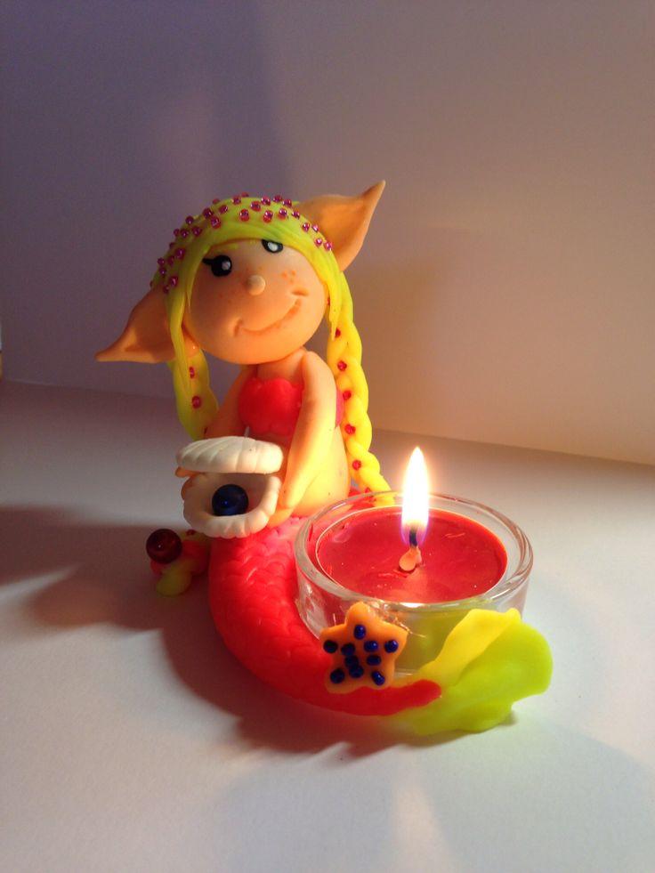 Sirenetta porta candele