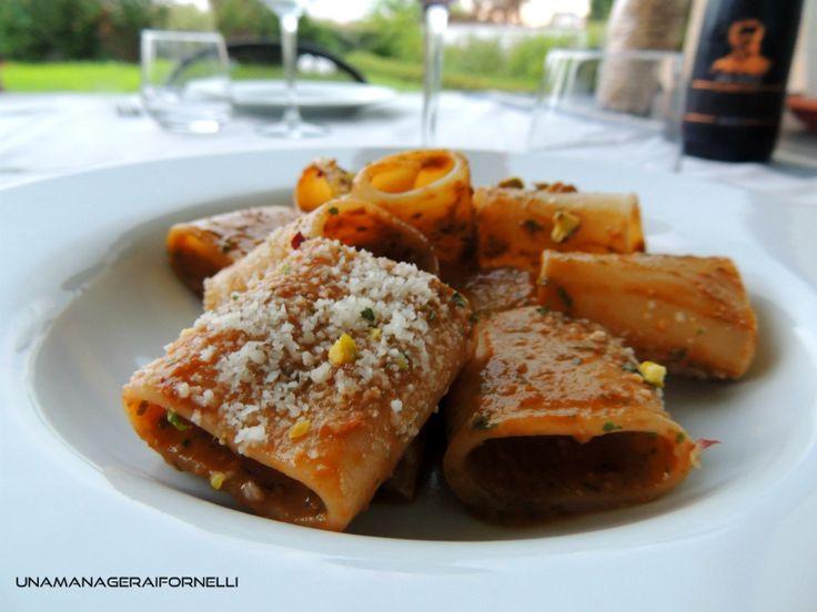 Paccheri+al+Pesto+Rosso