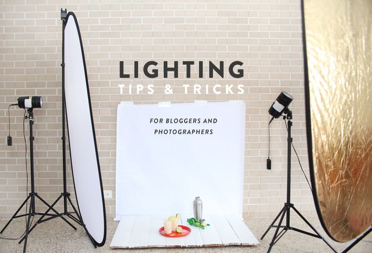 Learn how to take the best photos with both natural and artificial lights. Find out what equipment to buy and how to use them in your own home.
